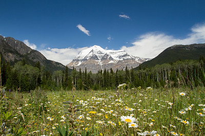 Mount Robson - Mount Robson Provincial Park, BC