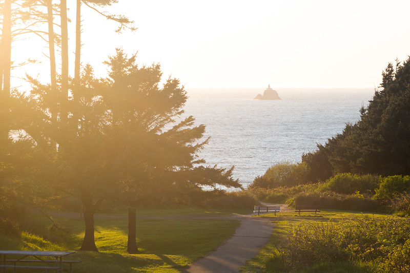 Ecola State Park nearing Sunset (April 2019)