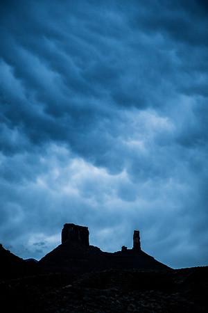 Castleton Tower, Castle Valley,  UT