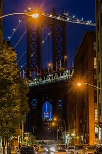 Empire State Bldg and Manhattan Bridge