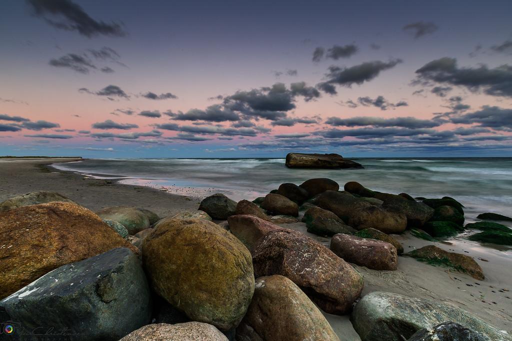 Sunset at Skagen, Denmark