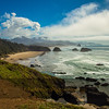 Cannon Beach from Ecola State Park, OR, USA