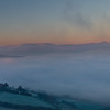 Dawn Breaks in the Brecon Beacons