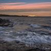 BC Ferry sunset, Saltspring Island.