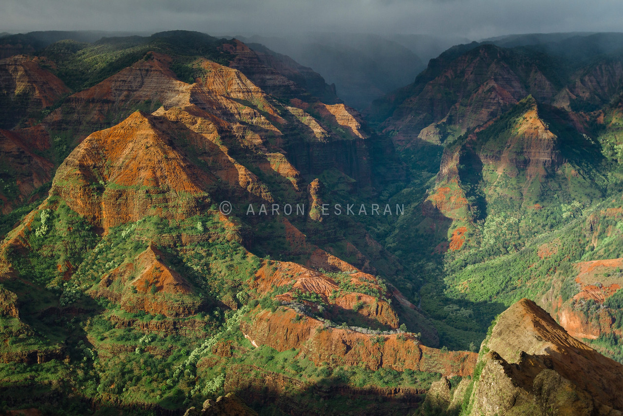 Storm Brewing at Waimea Canyon
