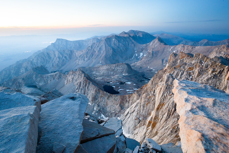 Mt Whitney Sunrise (July 2016)