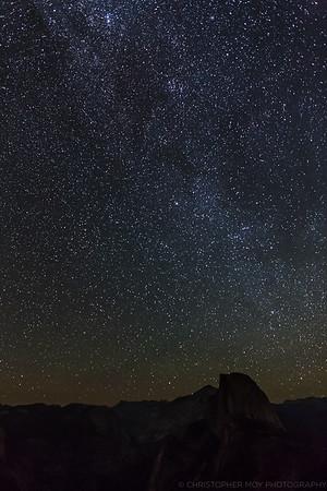 Stars over Glacier Point Yosemite