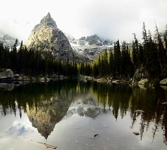 Lone Eagle Peak & Mirror Lake