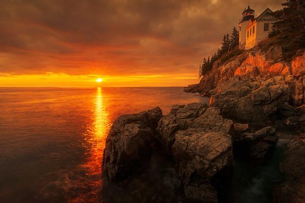 Bass Head Harbor Lighthouse - Acadia National Park