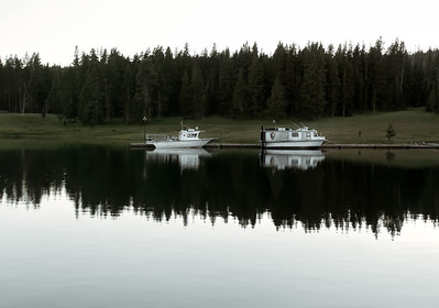 Two Lonely Boats