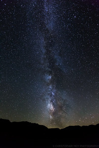 The Milky Way over Mono Lake