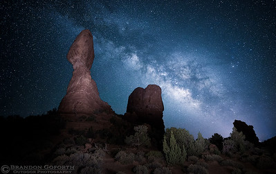 Arches Night Sky III