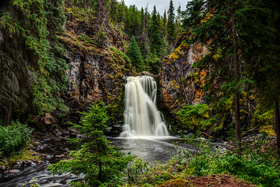 Greer Creek Falls