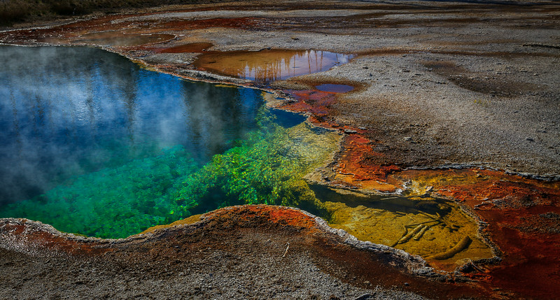 Pool at Yellowstone National Park