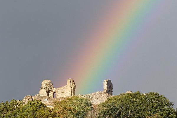 Montgomery Castle Rainbow