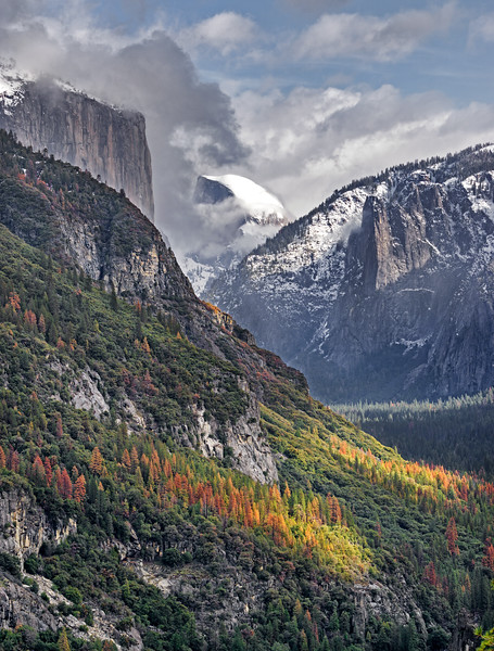 clearing storm in Yosemite Valley