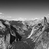 Yosemite Valley in Black and White