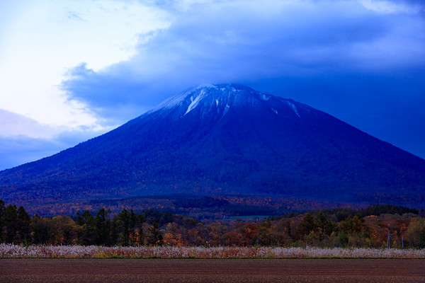 Deep Autumn, Mt.Yotei