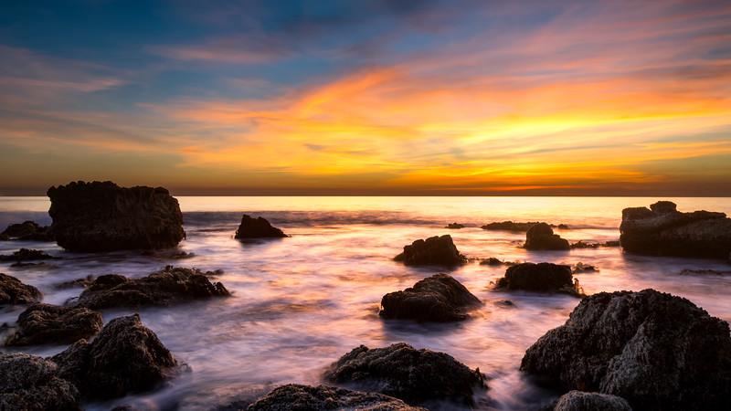 Laguna Beach at Low Tide