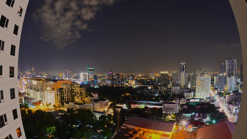 At night .. city of Bangkok