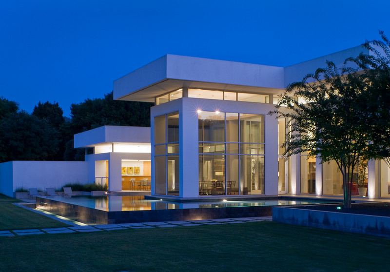 North Dallas Residence.  Client:  WKMC Architects, Dallas & Michael Malone Architects, Dallas.