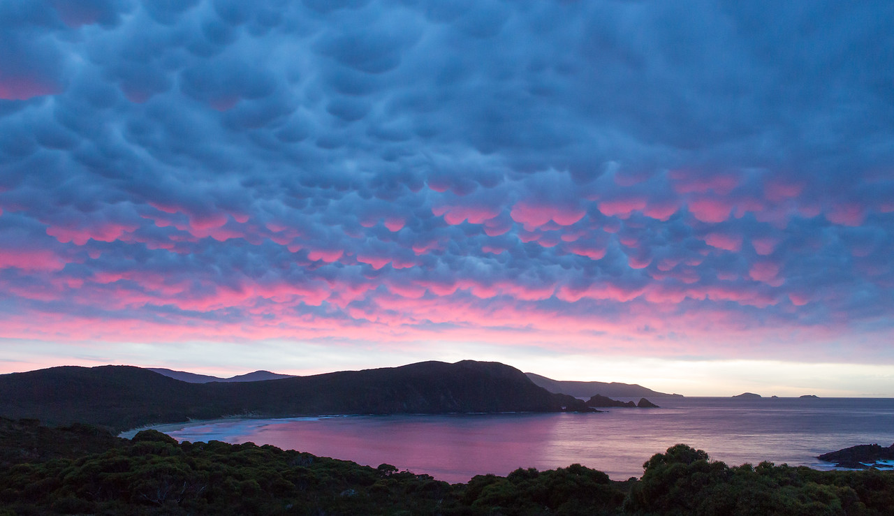 Lighthouse Bay, Bruny Island, Tasmania