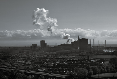 Steel works, Port Talbot
