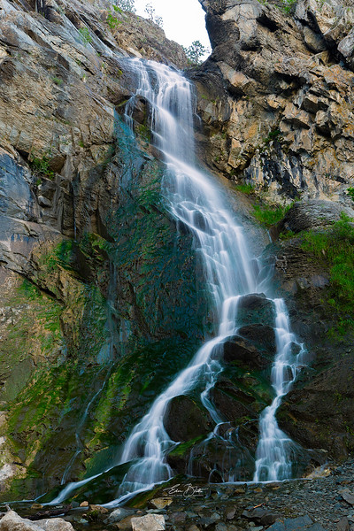 Bridal Veil Falls, Spearfish Canyon.