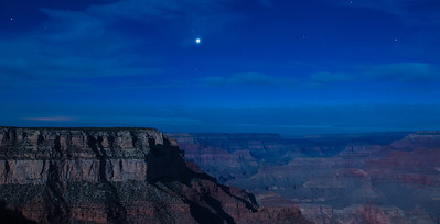 Nightime at Yavapai Point