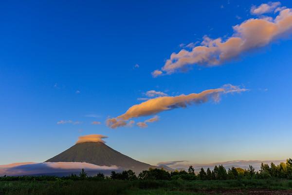 Floating Clouds, Mt.Yotei, Hokkaido