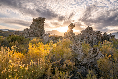 Sunset at South Tufa in Mono Lake
