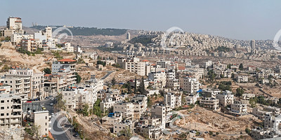 Panorama of Bethlehem with East Jerusalem in the Background