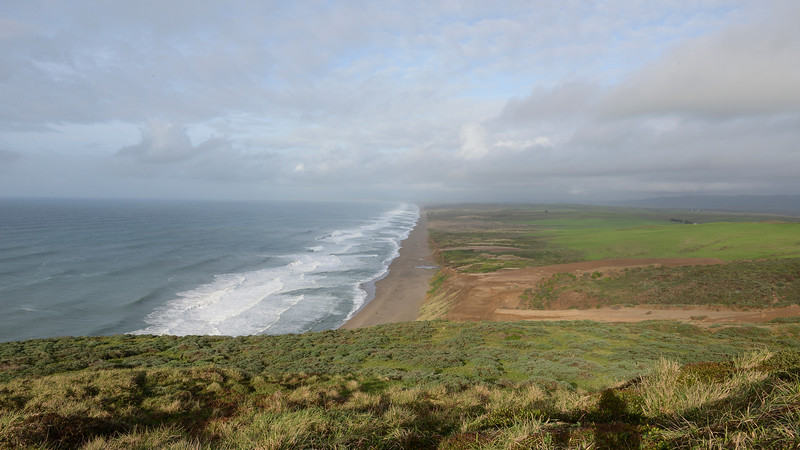 Point Reyes, view north from the Lighthouse