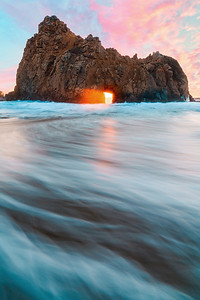 Key Hole Arch - Big Sur, California