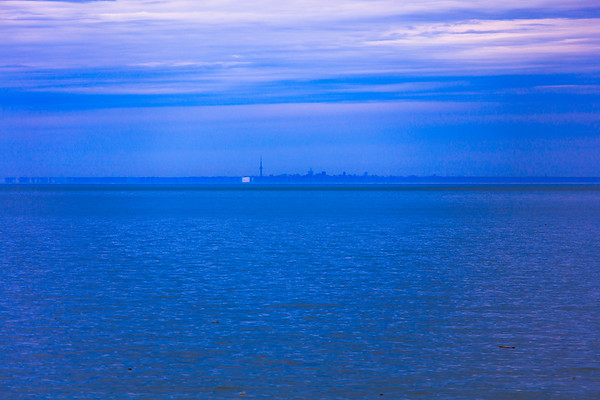Blue, CN Tower