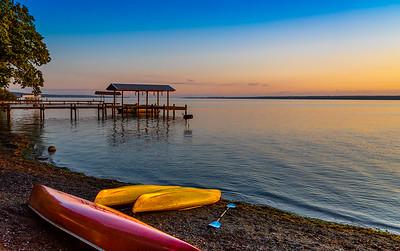 Morning Sunrise on Seneca Lake