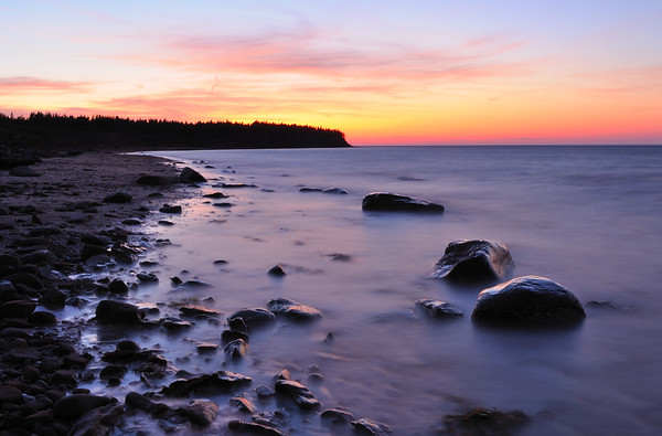 Sunset at Cape Jourimain, New Brunswick