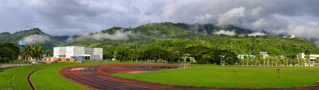 Tenom Sports Complex In The Morning