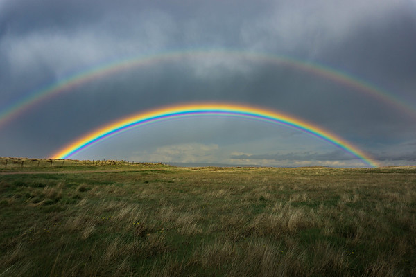 Double Rainbow on the Prairie