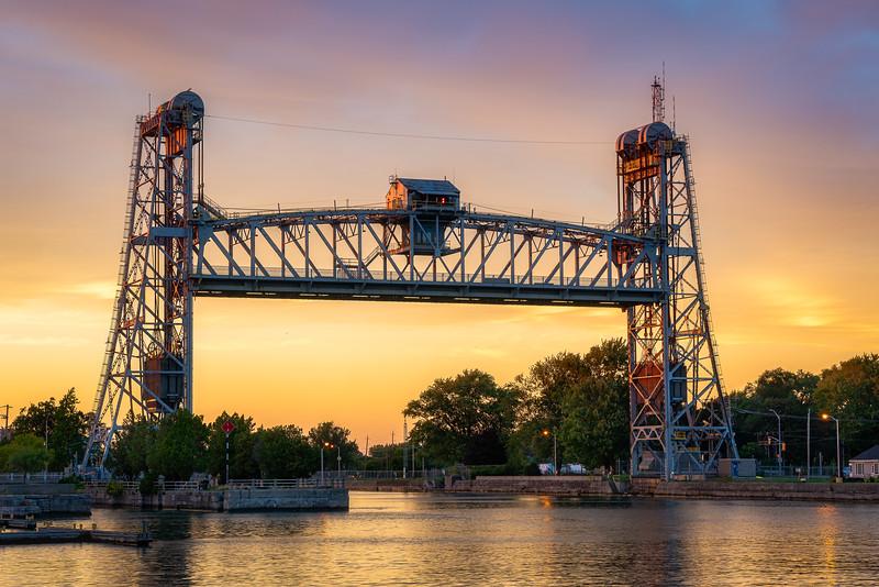 Sunset at Bridge 21 - Port Colborne