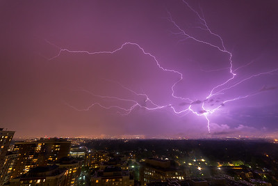 Lightning Over Ballston