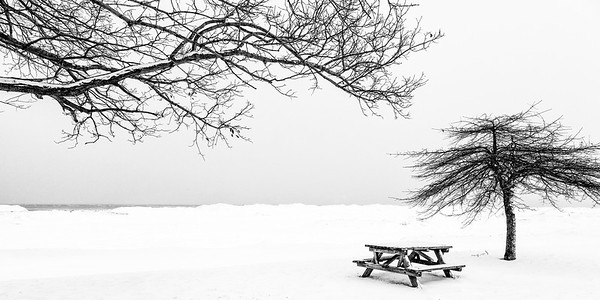 Lake Ontario Winter Landscape