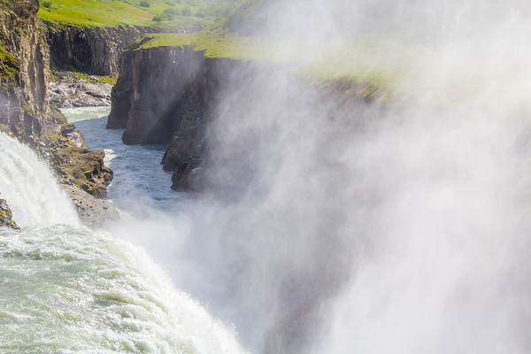Summer Splash, Gullfoss, Iceland