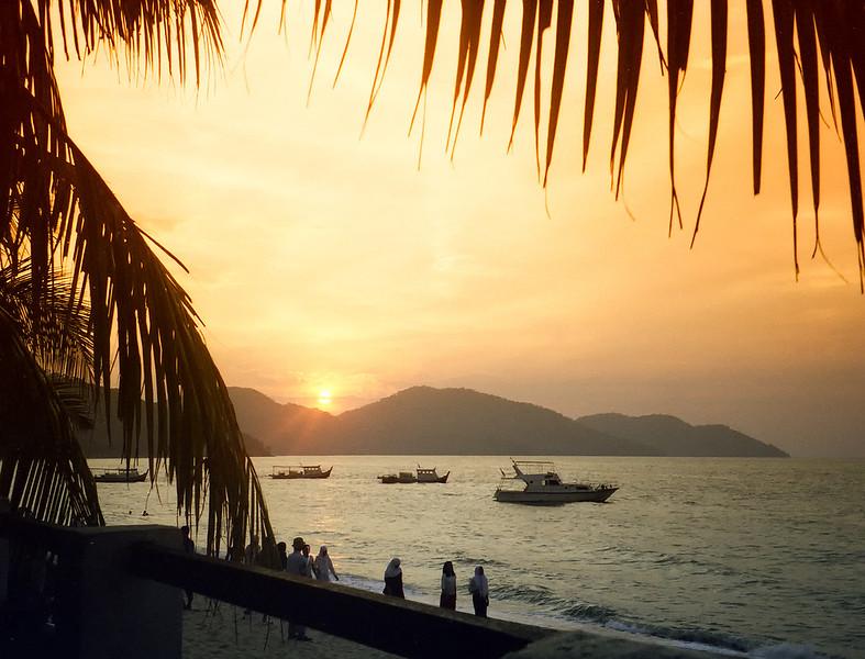 Sunset Penang Malaysia