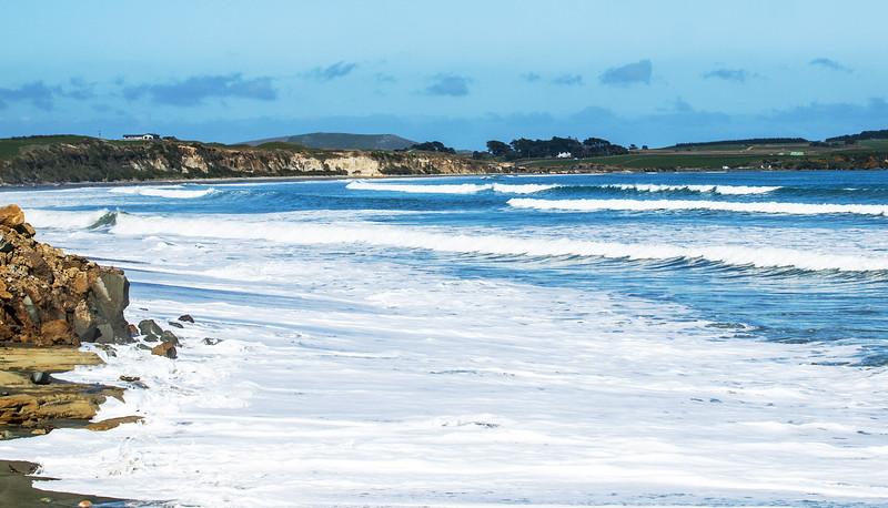 Gemstone beach Southland New Zealand