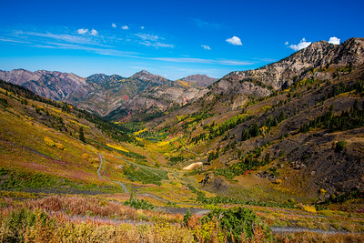 Utah Mountains in the Fall
