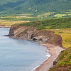 Cape Breton shoreline near Capstick, Nova Scotia