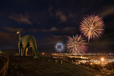 Rapid City Fireworks.