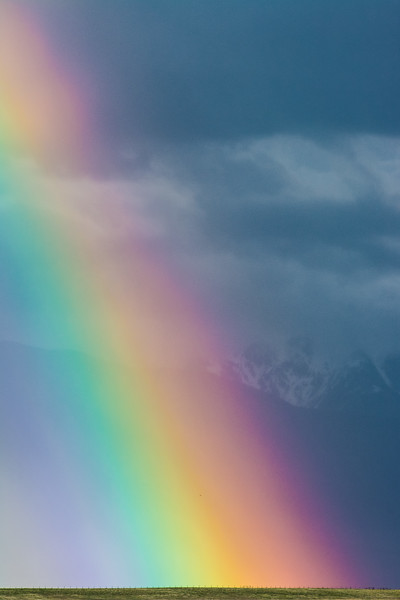 Rainbow in Madison Valley, MT