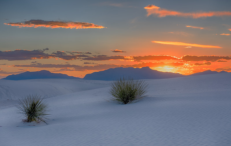 White Sands NM Sunset 2
